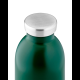 Botella Térmica 24Bottles Clima Jungle Green, 500 ml, verde, acero inoxidable