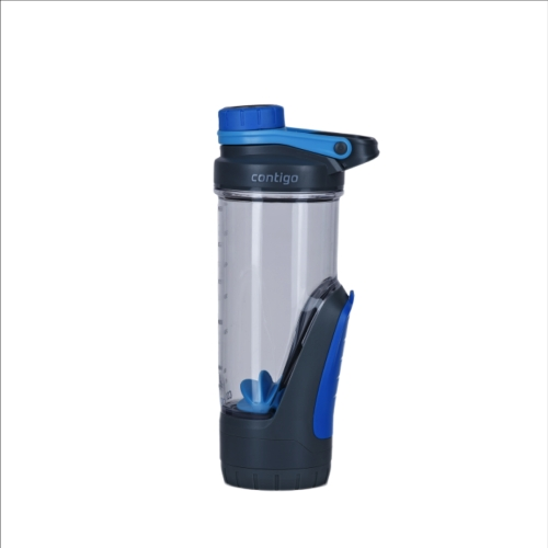 Botella Contigo Shake & Go Kangaroo, 720 ml, azul, BPA Free