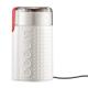 Molino café Bodum Bistro 11160-913, blanco, eléctrico