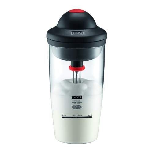 Espumador Bodum Latte 10864-01G, pilas, 200 ml, cristal