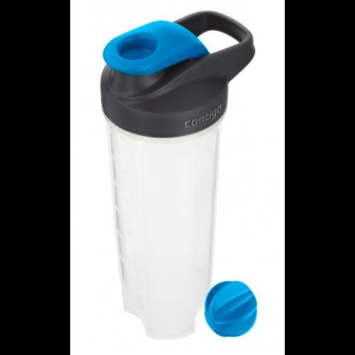 Botella Contigo Shake & Go Fit, 820 ml, azul, BPA Free