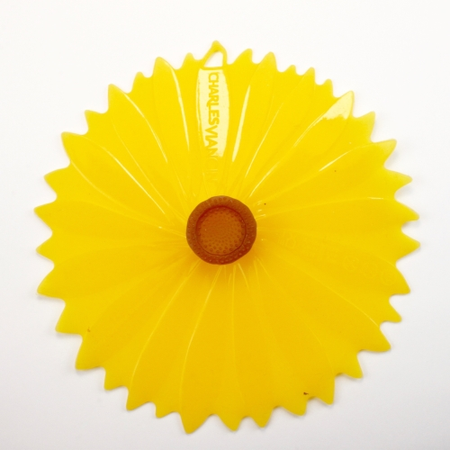 Tapa  Charles Viancin Girasol, set 2, Ø 100 mm, silicona