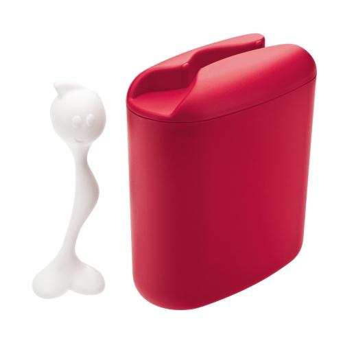 Envase Koziol Hot Stuff, 500 g, rojo, BPA Free