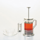 Cafetera Hario Coffee Plunger THJ-4SV, 600 ml, cristal/acero inoxidable