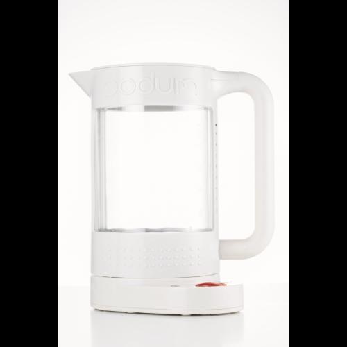 Calentador / Hervidor Bodum Doble Pared 11659-93, 1.100 ml, blanco, eléctrico, BPA Free
