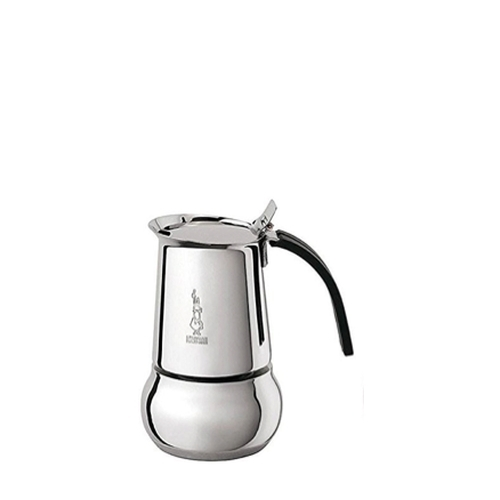 Cafetera Bialetti Kitty, 2 tzasa, acero inoxidable