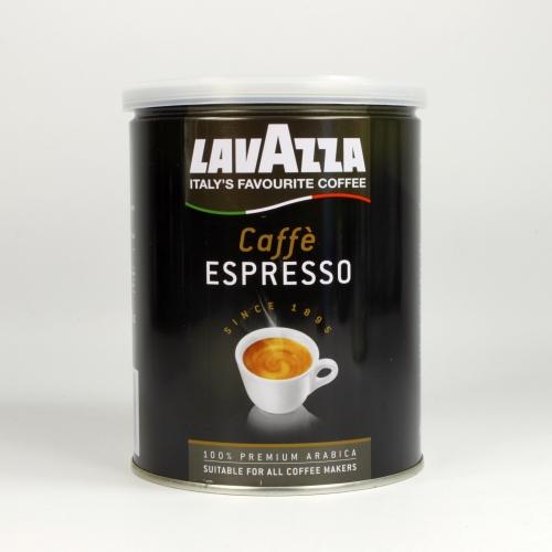 Café Lavazza Espresso, molido, 250 g