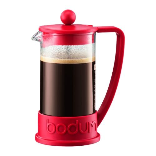 Cafetera Bodum Brazil 10948-294, 350 ml, rojo