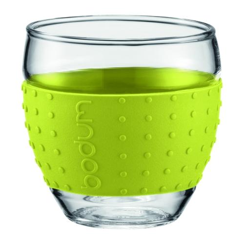 Vasos Bodum Pavina 11185-565, 350 mll, set 2, verde lima, borosilicato