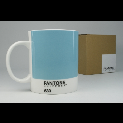 Taza / Mug Pantone Azul 630, 340 ml, porcelana