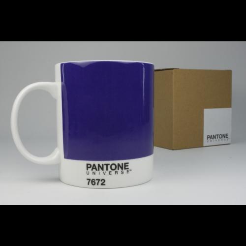 Taza / Mug Pantone Violeta 7672, 340 ml, porcelana
