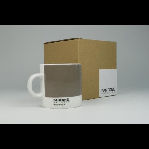 Taza Espresso Pantone Gris 8, 100 ml, porcelana