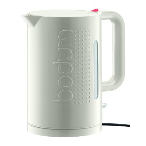 Hervidor Agua Bodum Bistro 1138-913, 1,5 l, blanco, eléctrico