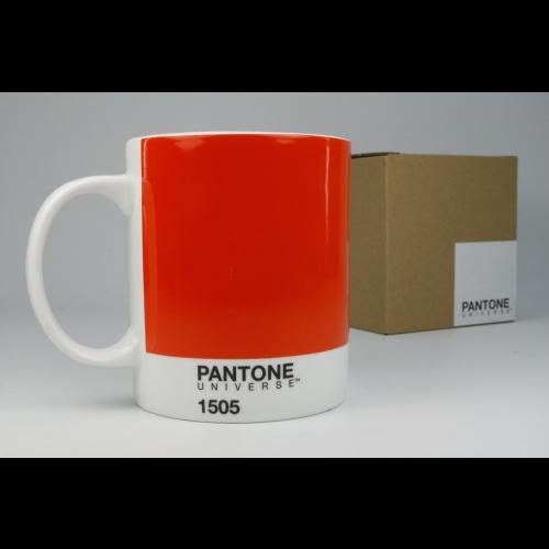 Taza / Mug Pantone Naranja 1505, 340 ml, porcelana