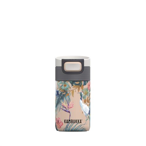 Vaso Termico Kambukka Etna Paradise Flower 11-01013, 300 ml, estampado, acero inoxidable, BPA free