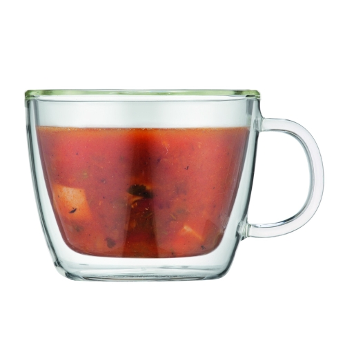 Tazas Bodum Bistro Desayuno 10608-10, 450 ml, set 2, doble capa, borosilicato