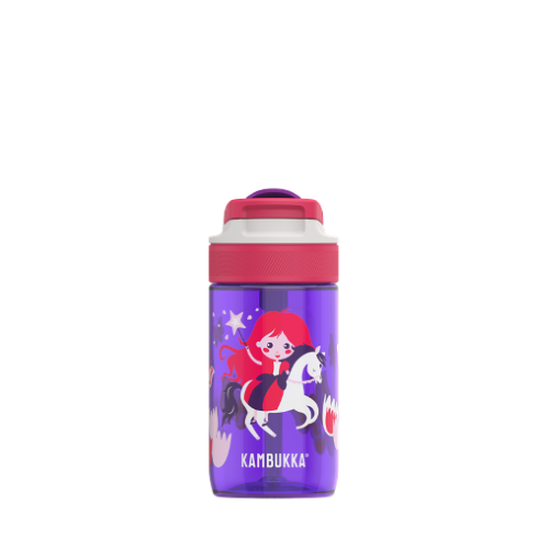 Botella Kambukka Lagoon Magic Princess 11-04016, 400 ml, violeta, tritan BPA Free