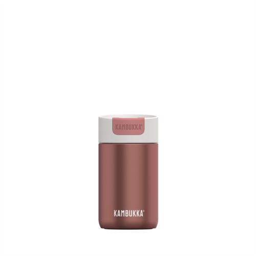 Vaso Termico Kambukka Olympus Misty Rose11-02004, 300 ml, rosa viejo, acero inoxidable, BPA Free