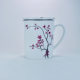 Taza c/ Filtro Tea Logic Cerezo, 300 ml, porcelana