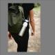 Botella Dopper Solid Steel, 490 ml, acero inoxidable/plástico BPA Free