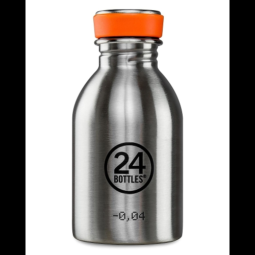 Botella 24Bottles Urban Steel, 250 ml, acero inoxidable