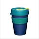 Vaso Reutilizable KeepCup Hydro M, 340 ml, azul/verde/índigo, plástico BPA Free
