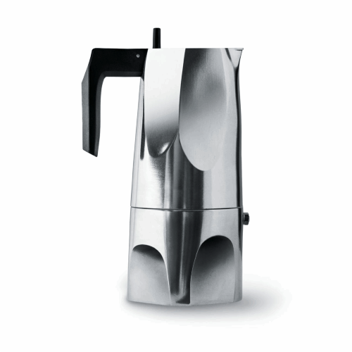 Cafetera Alessi Ossidiana MT18/6, 6  tazas, aluminio