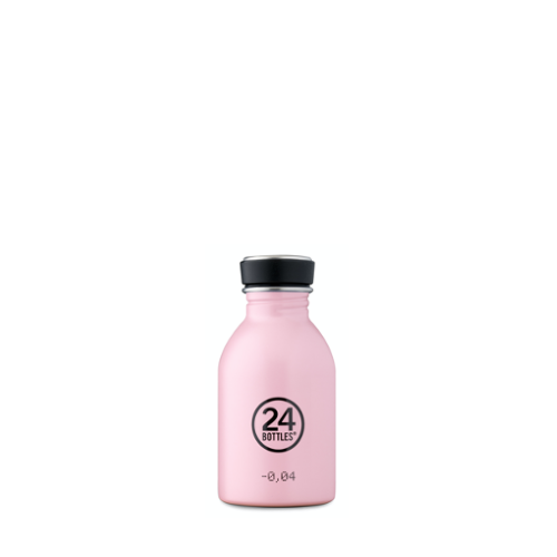 Botella 24Bottles Urban Candy Pink , 250 ml, rosa, acero inoxidable