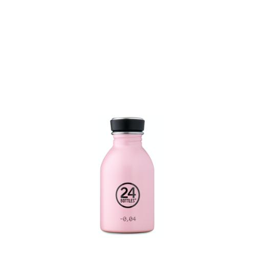 Botella 24Bottles Urban Candy Pink , 250 ml, rosa, acero inoxidable
