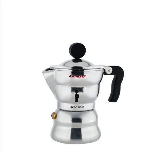 Cafetera Alessi Moka AAM33/3, 3 tazas, aluminio
