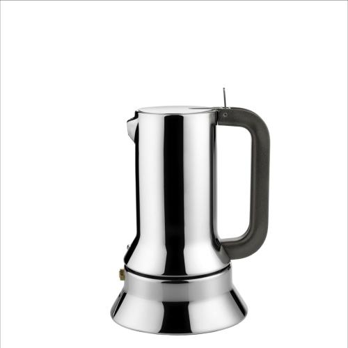 Cafetera Alessi Espresso 9090/3, 3 tazas, acero inoxidable