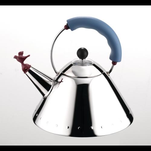 Calentador / Hervidor Silbante Alessi 9093, 2 l, acero inoxidacle