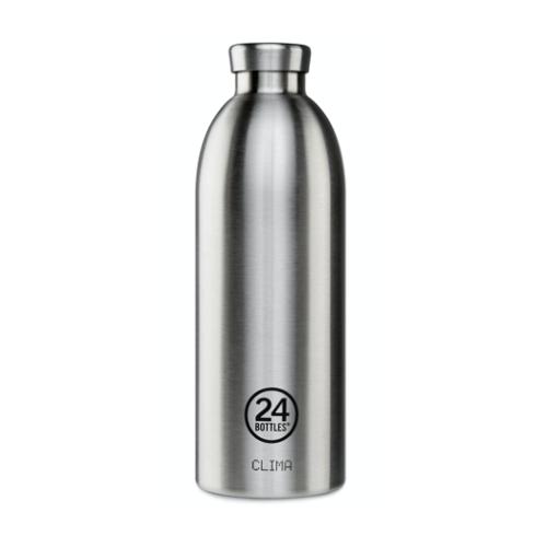 Botella Térmica 24Bottles Clima Steel, 850 ml, acero inoxidable