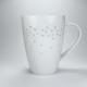 Mega Taza Tea Logic Starlight, 500 ml, porcelana