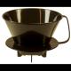 Cono Goteo Café  p/ Filtros Finum , negro, BPA Free