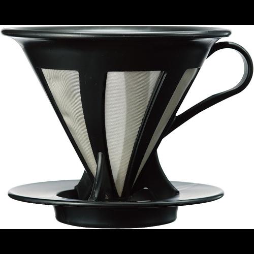 Filtro Café Goteo Hario Cafeor 02 CFOD-02-B, negro