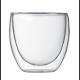Vaso Bodum Pavina 4557-10-12, 80 ml, doble capa, borosilicato