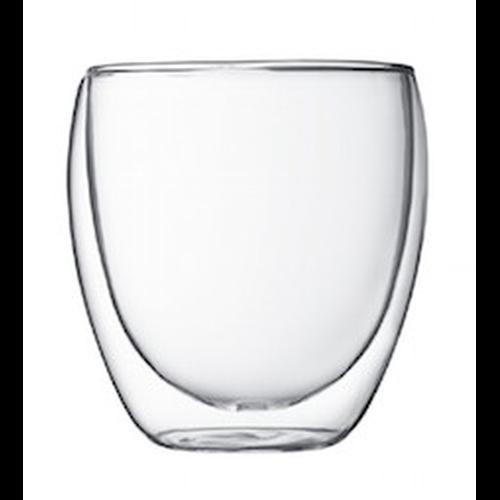 Vaso Bodum Pavina 4558-10-12, 250 ml, doble capa, borosilicato