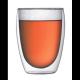 Vaso Bodum Pavina 4559-10-12, 360 ml, doble capa, borosilicato