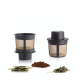 Filtro Permanente Flotante  p/ Taza Finum, M, Plástico BPA Free, negro