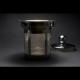 Tetera Fuego, 400 ml, cristal borosilicato-acero inoxidable
