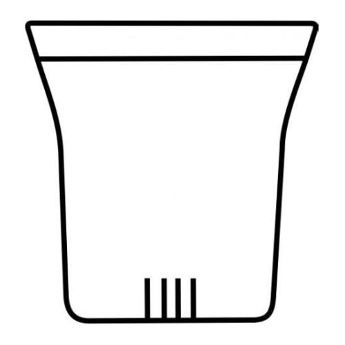 Filtro Cristal Trendglas M, Ø 70 x 80 mm,  borosilicato