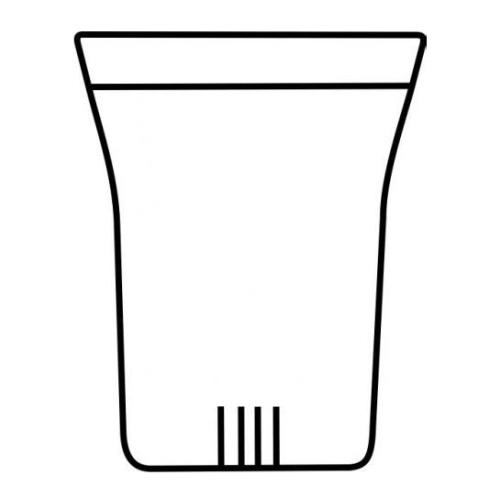 Filtro Cristal Trendglas L, Ø 70 x 100 mm, borosilicato