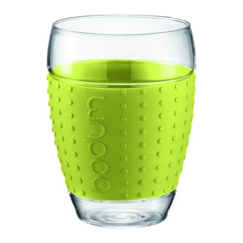 Vasos Bodum Pavina 11166-565, set 2, 450 ml, borosilicato, verde lima