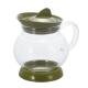 Tetera Hario Jumping JTS-35-OG, 350 ml, verde