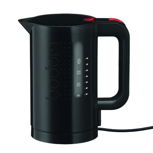 Hervidor agua Bodum Bistro 11452-01, 1 l, negro, eléctrico