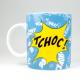 Taza / Mug Könitz  Astérix / Obélix Tchoc, 320 ml, porcelana
