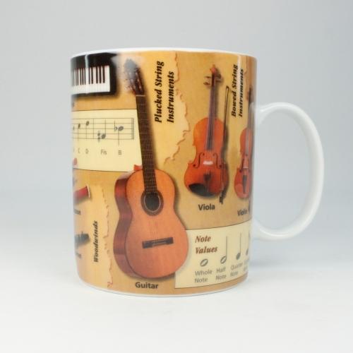 Taza / Mug Könitz Knowledge Music, 450 ml, porcelana