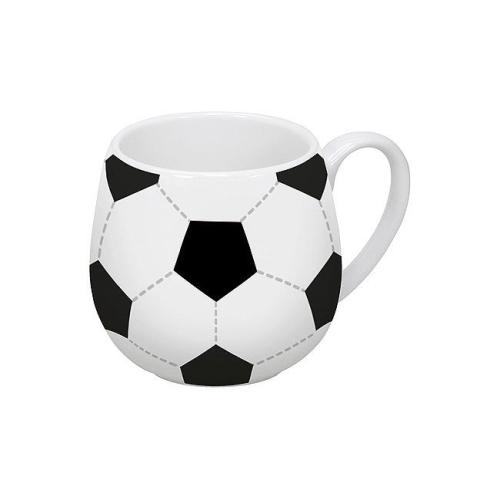 Taza Könitz Snuggle Futbol, 380 ml, porcelana