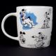 Taza Könitz Asterix Snif Snif, 340 ml, porcelana